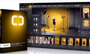 这款吊炸天的3D布光模拟软件!每个摄影师都该拥有的布光...