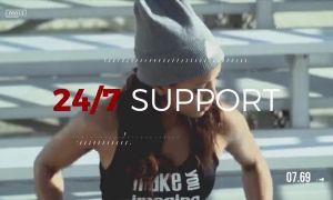 动感体育运动主题的影像剪辑宣传片