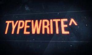 不错的电脑打字动画特效预设 Typewriter Pro