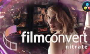 达芬奇数字转胶片调色插件 FilmConvert Nitrate OFX v3.01 Mac破解版