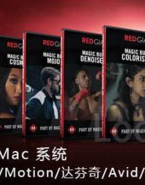 红巨人降噪磨皮调色插件套装Red Giant Magic Bullet Suite v13.0.13 ...