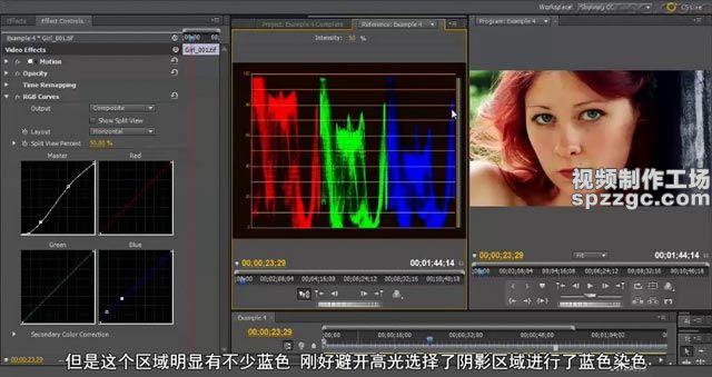 (5)案例四:使用曲线制作色调-spzzgc.jpg