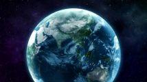 在地球上进行定位标记后揭示出logo标志,3版入