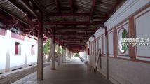 泉州市开元寺走廊长廊木结构建筑千年古寺