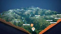 在拟3D地图上生成前进路线路径动画的创建器