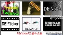 Ae/Pr插件VisionEffects去闪/降噪/磨皮/慢速