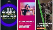 超级图形元素动画包,含文字标题、形状、图表、标签等...