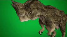 绿屏素材恐龙怪兽绿幕素材抠像素材
