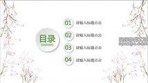 绿色节日历史文化教育班会PPT模板