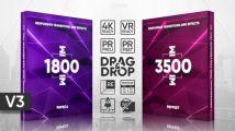 视觉盛宴!5000+视频转场过渡视觉特效豪华PR预设包+使用教程