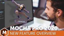 Nuke/达芬奇/Vegas/OFX专业三维摄像机反求跟踪插件Mocha Pro 2020...