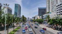 城市街景交通物流运输海南省海口市