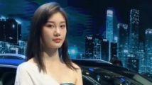 车模模特性感美女代言祝福表白01