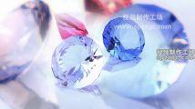 4款钻石宝石水晶首饰钻戒实拍闪光