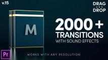 Pr预设:2000个移动缩放平移干扰RGB色彩分离扭曲抖动炫光...