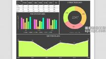 部门项目经费支出财务Excel表格模板