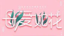 母爱如花母亲节粉色幸福健康妈妈海报